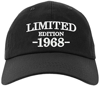 (owndis)/Accessories/Hats/DIRECT FROM USA/Cap 50th Birthday Gift, Limited  Edition 1968 All Original