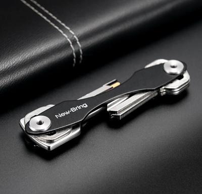 Oxide Aluminum Key Wallets Smart Car Key Holder Chain Housekeeper Diy Pocket Smart Key Organizer