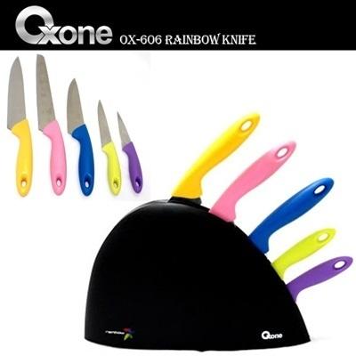 Oxone OX-606 Rainbow Knife Set Oxone