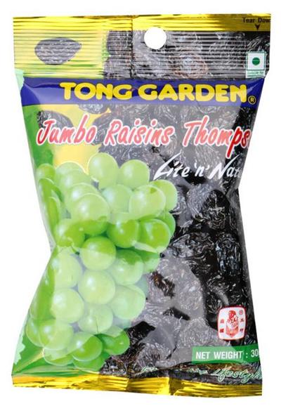 Qoo10 - Pack of 6 Jumbo Raisins Thompson Fruit Snack 30g /Tong ...