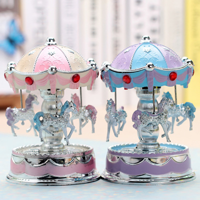 Package Delivery Carousel Music Box Decoration Ideas Birthday Gift For Male And Female Teachers