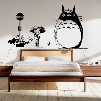 Package Mail Hayao Miyazakiu0027 S Totoro Wall Stickers The Totoro TOTORO  Hand Painted The