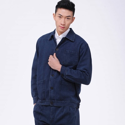 2019 best fast delivery select for newest Padded cotton men and women jeans overalls set power engineering clothing  labor insurance clothing d