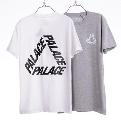 369a96debe97 Qoo10 - Palace Skateboards P 3 Cotton Logo Crew Neck T-Shirt   Men s Apparel