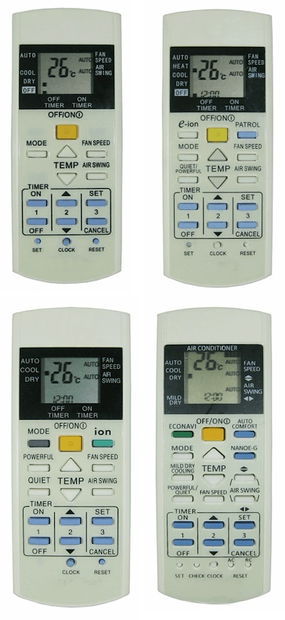 Qoo10 - PANASONIC AC REMOTE : Major Appliances