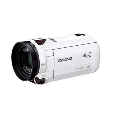 Panasonic digital 4K video camera VX 985M 64GB after correction White HC-VX  985M-W