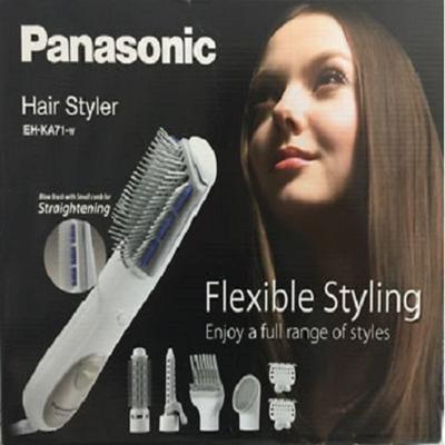 how to use panasonic hair styler eh-ka71