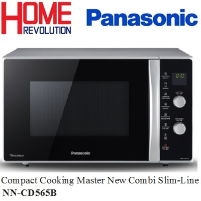 Panasonic Nn Cd565b Slimline 27 L Combination Oven Inverter Microwave
