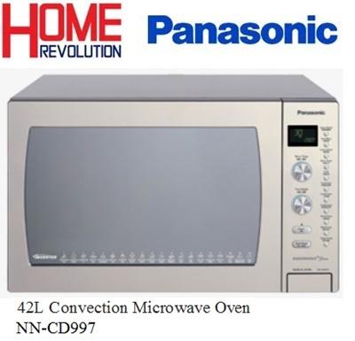 Panasonic Nn Cd997 42l Convection Microwave Oven