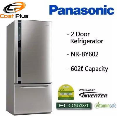 Qoo10 Panasonic Nr By602 602l 2 Doors Bottom Freezer