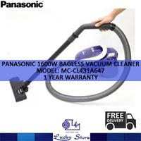 Panasonic 1600W BAGLESS VACUUM CLEANER MC-CL431A647 1 YEAR WARRANTY Image