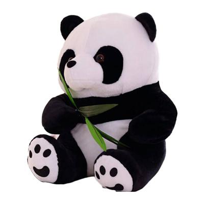 Qoo10 Panda Plush Doll Mini Stuffed Animal Soft 16cm Fuzz Giant