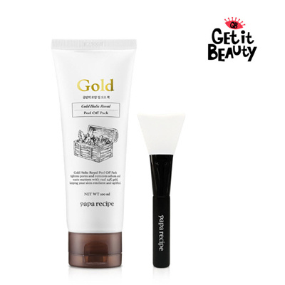 Paparecipe[PAPA RECIPE] ★Gold Holic Royal Peel Off Pack 100ml Pore Care★Get  it Beauty