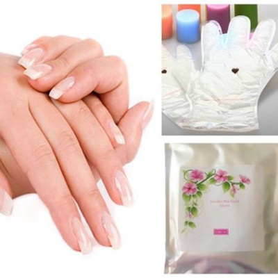 Paraffin Wax Hand Gloves Home Spa Treatment with Coconut Oil, Vitamin E and  Aloe - 1 Pair of Gloves,