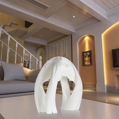 Parametric Door 3D Printed Sculpture Home Decoration Parametric Ornament