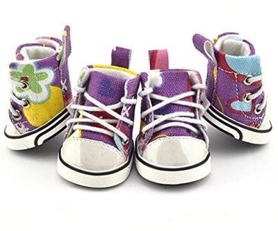 Qoo10 - (Parisian Pet) Pet Dog Boot Sneakers Tennis Shoes Graffitti  Converse- ...   Pet Care 4c97d707f138