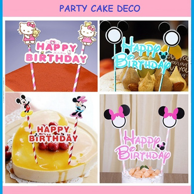 Qoo10 Party Cake DecoCandles Unique Birthday