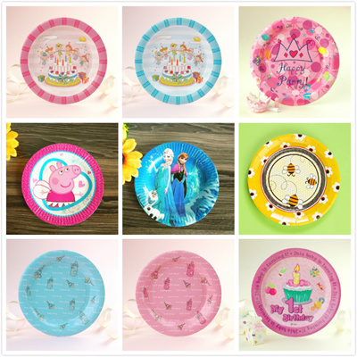 Qoo10 Party Supplies 10 PcsPackParty PlateCartoon Plate