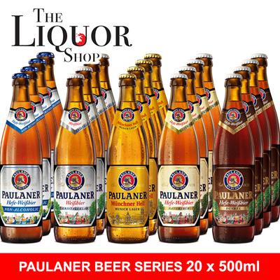 Paulaner Wheat 12x500ml Bottles