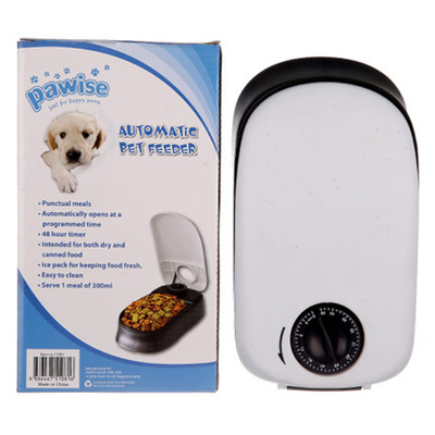 Dishes, Feeders & Fountains Cat Food Dispenser Pet Dog Feeder Bowl Automatic Auto Puppy Dish Animal Meal Pet Supplies
