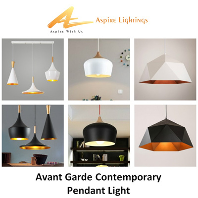 Pendant Light Industrial Contemporary Modern Trendy LED Ceiling Hanging  Lighting SG Seller