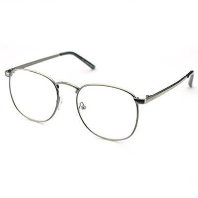 11bf5c3fc77 Qoo10 - PenSee Oversized Circle Metal Eyeglasses Frame Inspired Horned Rim  Cle...   Fashion Accessor.