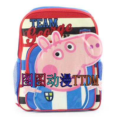 Qoo10 - Peppapig Peppa Pig pepper pig George girls boys school bag backpack  sc...   Kids Fashion 24ba04385d856