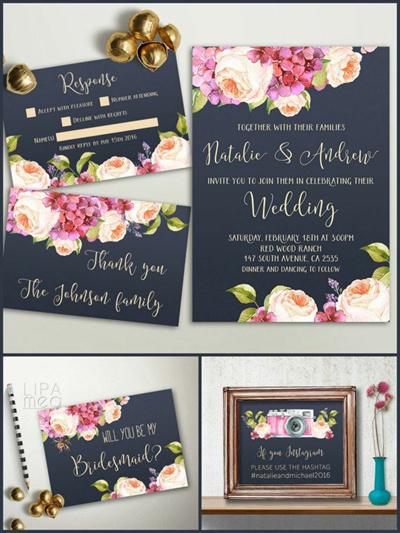 qoo10 per pack 30pcs customized wedding invitation card 2