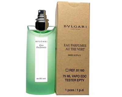 Qoo10 Perfume Bvlgari Au The Vert For Unisex 75ml Edc Spray Tester