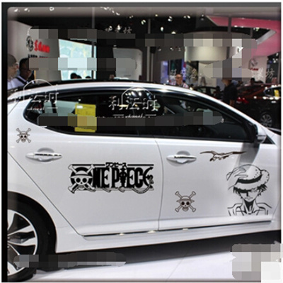 Qoo Personalized Car Stickers Garland Scratches Block Creative - Car show stickers