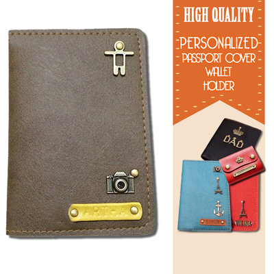 Qoo10 Personalized Passport Cover Wallet Holder High Quality