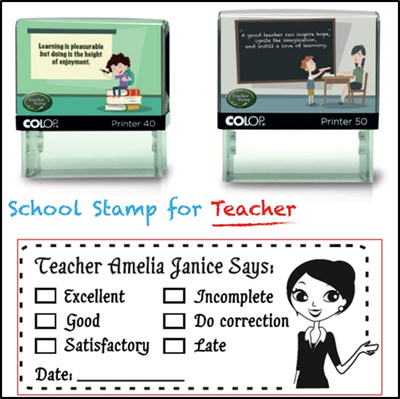 Desk Accessories Custom Name Self Inking Personalized