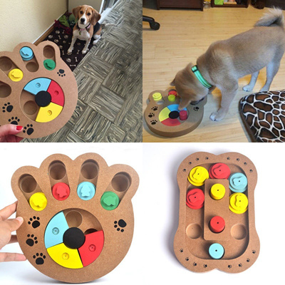 Qoo10 - Pet Dog Game Training Wooden IQ Interactive Toy Food Dispensing  Puzzle...   Women s Clothing 977e07293c