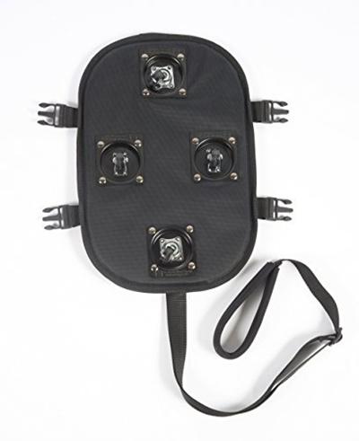 196750dbfc04 Petego PetEgo Universal Sport Bag and Infinita Carriers Rolling Platform -  Black