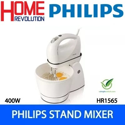 qoo10 hr1565 philips stand mixer home electronics. Black Bedroom Furniture Sets. Home Design Ideas