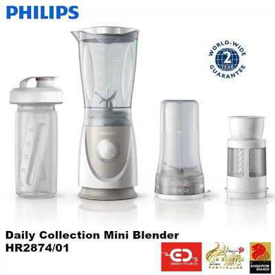 qoo10 philips daily collection mini blender hr287401