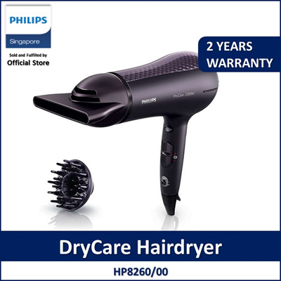 Philips DryCare Prestige Hairdryer HP8260 00 Even Heat Distribution 2300W  ThermoProtect Ionic 8ed135b772432