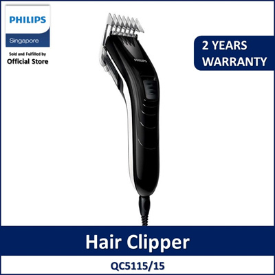 Philips family hair clipper QC5115 15  Stainless steel blades 11 length  settings  19a61cda6a
