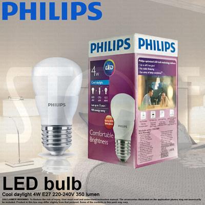 PHILIPSPhilips LED Light bulb E27 220-240V (4W 6 5W 10 5W 13W)