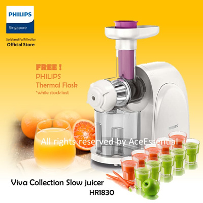 Qoo10 - Philips Slow Juicer : Home Electronics