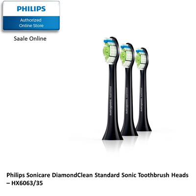 PHILIPSPhilips Sonicare DiamondClean Standard Sonic Toothbrush Heads -  HX6063/35