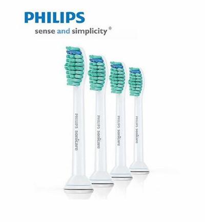 Philips sonicare tooth brush refill 4-Pack ProResults Brush Head Standard    HX6013  HX6014 88f7e0fee8f0b