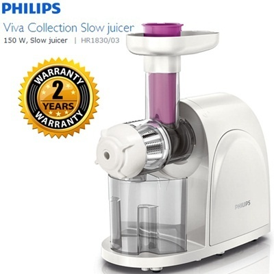 Philips Slow Juicer Hr1830 Review : Qoo10 - Philips viva Collection Slow Juicer (HR1830) - 2 YEARS WARRANTY : Home Electronics