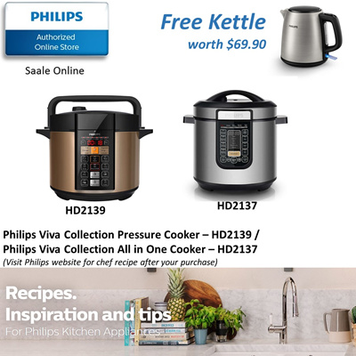 Qoo10 - Philips Viva Collection All-In-One Cooker - HD2139 ...