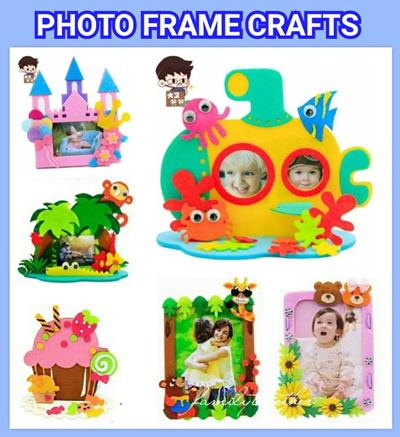 Qoo10 Photo Frame Crafts Diy Craft Kit Felt Photo Frame Goodie