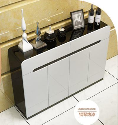 Piano Paint Shoe Cabinet Modular Cube Storage System Rack Shelf Wardrobe  Box Storage Shoe Rack