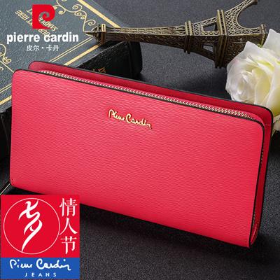 dcbf038569c73 Qoo10 - Pierre Cardin leather zip around wallet clutch bag lady Joker  wallet d...   Men s Bags   Sho.