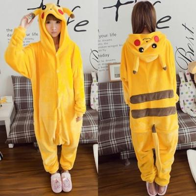 f26b3ed0 Qoo10 - PIKACHU Pokemon Pikachu Inspired Sleepwear / Jumpsuits / Costume :  Underwear & Socks