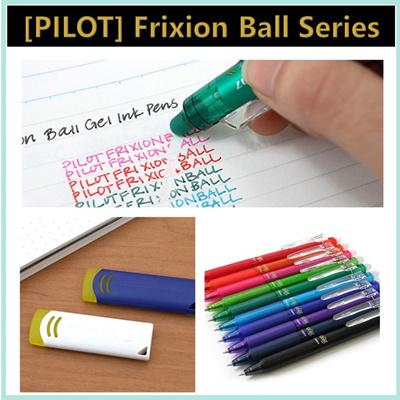 Pilotpilot Frixion Ball Knock 0 5 0 7 Ball Slim 0 38 Point 0 4 Erasable Pen