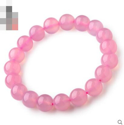 43f817708 Qoo10 - Pink chalcedony Bracelet female : Watch & Jewelry